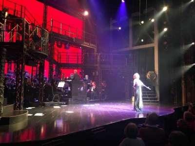 Palace Theatre (Broadway), secção: Orchestra, fila: D, lugar: 1