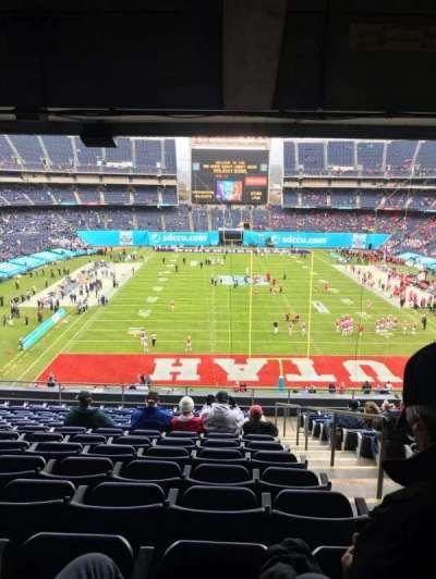 San Diego Stadium secção P20