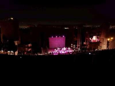 Red Rocks Amphitheatre, fila: 32, lugar: 109