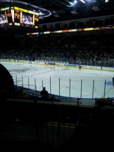 Stockton Arena, secção: 212, fila: 17, lugar: 8