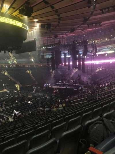 Madison Square Garden secção 106