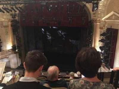 Samuel J. Friedman Theatre, secção: Mezzanine, fila: E, lugar: 120