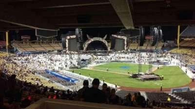 Dodger Stadium secção 111LG