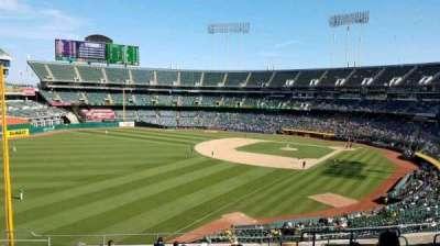 Oakland Coliseum secção 230
