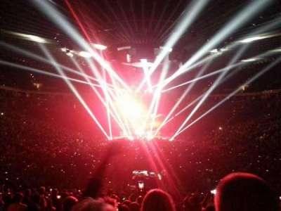 Oracle Arena, secção: 108, fila: 22, lugar: 2
