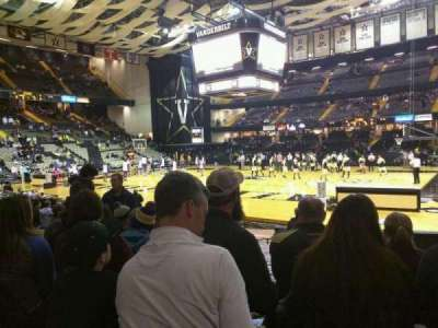 Memorial Gymnasium (Vanderbilt), secção: G, fila: 23, lugar: 8