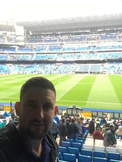Santiago Bernabéu Stadium, secção: 200, fila: 3, lugar: 36