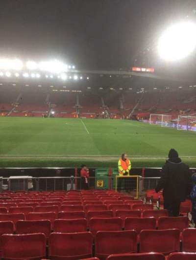 Old Trafford, secção: North, fila: Pp, lugar: 2