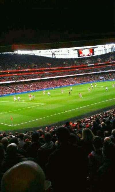Emirates Stadium secção 120
