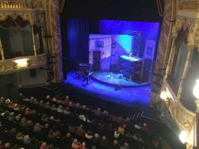 Everyman Theatre, secção: Upper Circle, fila: A, lugar: 30