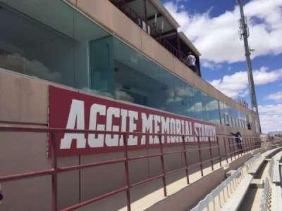 Aggie Memorial Stadium secção GG1