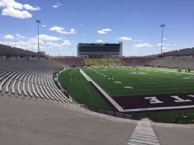Aggie Memorial Stadium secção O