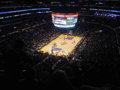 Staples Center, secção: 307, fila: 8, lugar: 13