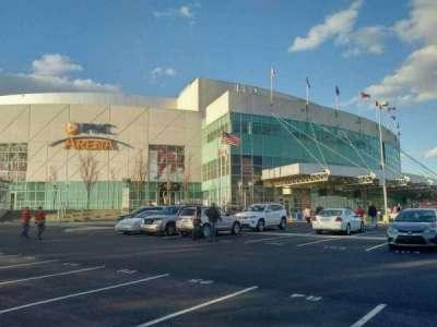 PNC Arena, secção: exterior