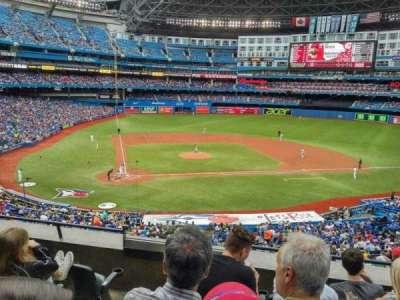 Rogers Centre, secção: 220L, fila: C, lugar: 108
