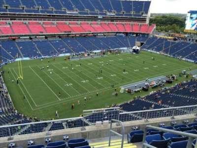 Nissan Stadium, secção: 317, fila: F, lugar: 1