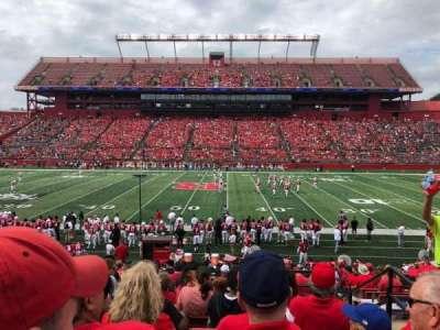 SHI Stadium, secção: 126, fila: 19