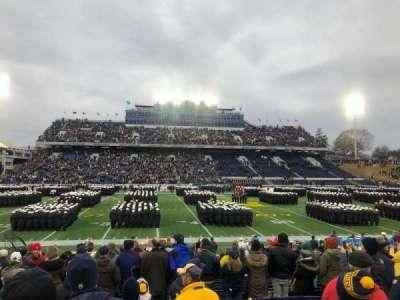 Navy-Marine Corps Memorial Stadium, secção: 30, fila: 7, lugar: 23