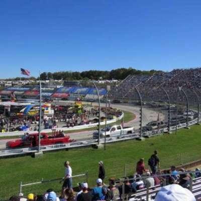 Martinsville Speedway, secção: Sprint Tower DD, fila: 10, lugar: 8