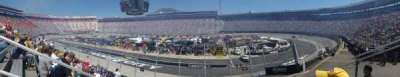 Bristol Motor Speedway, secção: Junior johnson, fila: 12, lugar: 9