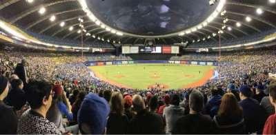 Olympic Stadium, Montreal, secção: 406, fila: A, lugar: 5
