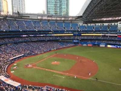 Rogers Centre, secção: 516, fila: 1