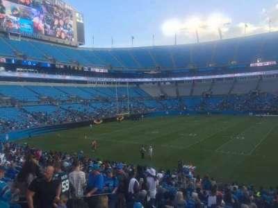 Bank of America Stadium, secção: 114, fila: 15, lugar: 21