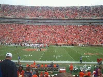 Memorial Stadium, Clemson secção E