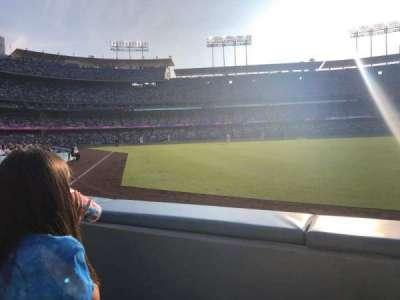 Dodger Stadium secção 50FD