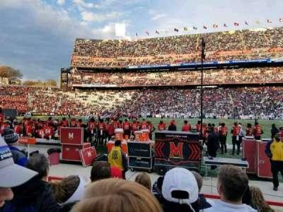 Maryland Stadium, secção: 25, fila: F, lugar: 8