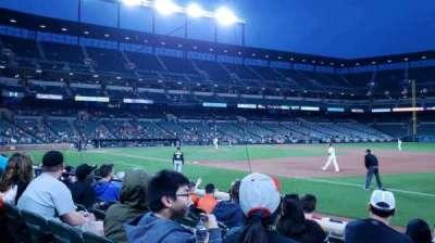 Oriole Park at Camden Yards, secção: 14, fila: 7, lugar: 6