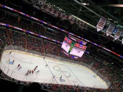 Capital One Arena, secção: 431, fila: H, lugar: 5