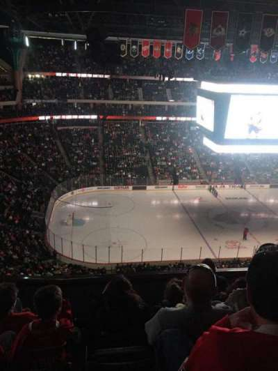 Xcel Energy Center, secção: 206, fila: 5, lugar: 15