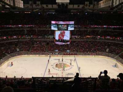 United Center, secção: 318, fila: 11, lugar: 1