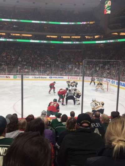 Xcel Energy Center, secção: 115, fila: 7, lugar: 5