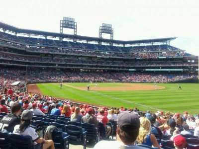 Citizens Bank Park secção 109