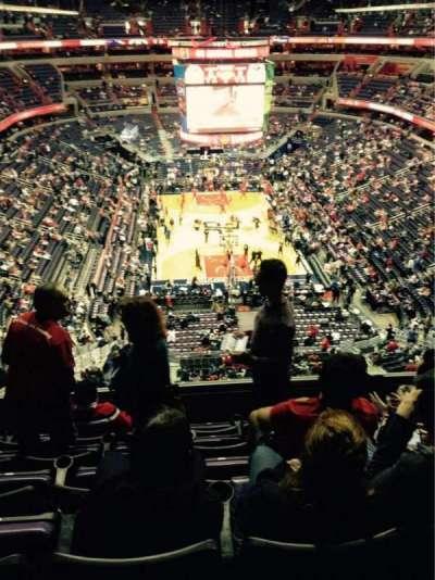 Capital One Arena secção 425