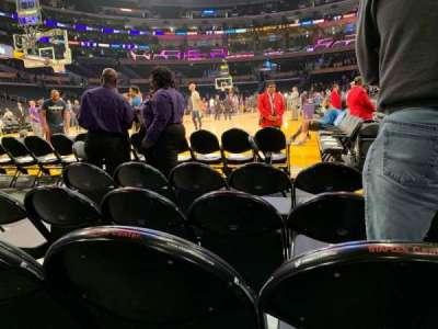 Staples Center secção 105