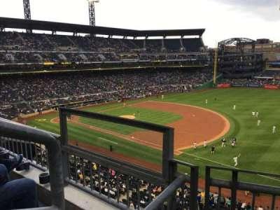 PNC Park, secção: 205, fila: B, lugar: 9