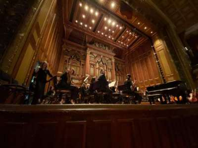 Jordan Hall at the New England Conservatory