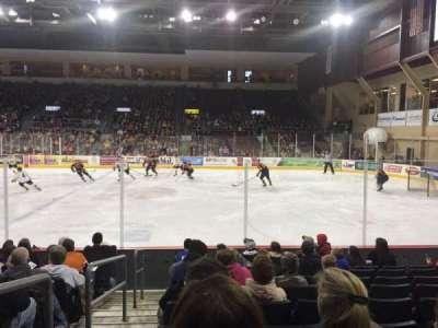 Erie Insurance Arena, secção: 121, fila: J, lugar: 14