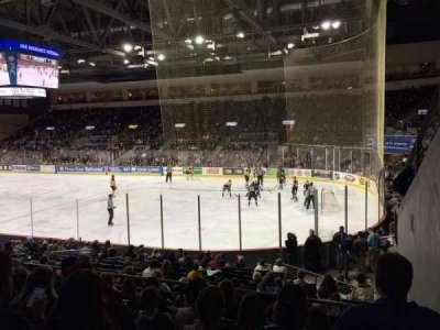 Erie Insurance Arena, secção: 207, fila: Q, lugar: 1
