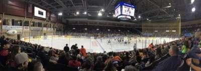 Erie Insurance Arena, secção: 103, fila: J, lugar: 10