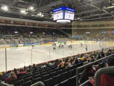Erie Insurance Arena, secção: 201, fila: L, lugar: 1