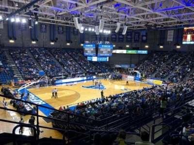 Alumni Arena (University at Buffalo), secção: 209, fila: G, lugar: 9