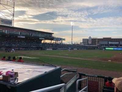 Northeast Delta Dental Stadium, secção: 114, fila: G, lugar: 25
