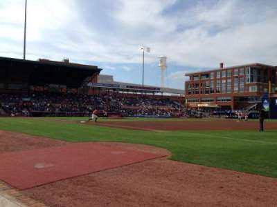 Durham Bulls Athletic Park secção 116