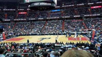 Capital One Arena, secção: 101, fila: R, lugar: 3