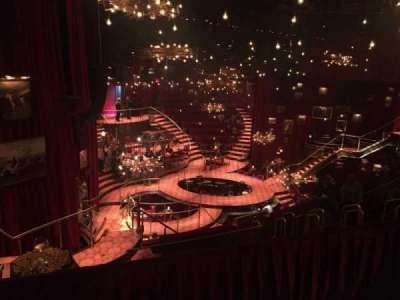 Imperial Theatre, secção: Rear Mezzanine, fila: A, lugar: 4