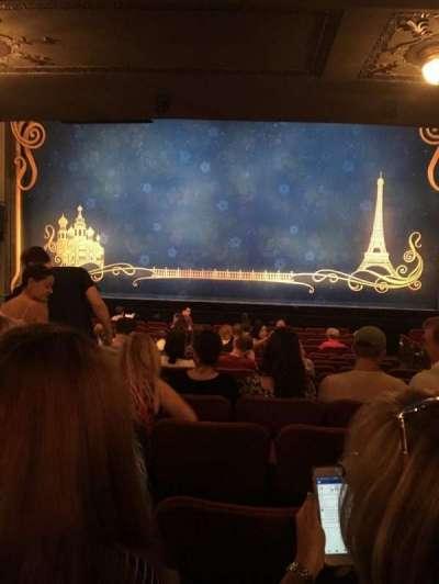 Broadhurst Theatre, secção: Orch, fila: P, lugar: 112